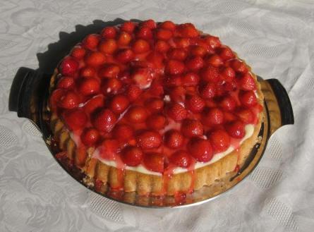 Erdbeer kuchen gelatine